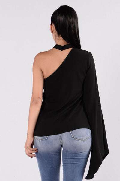 Want It That Way Top - Black