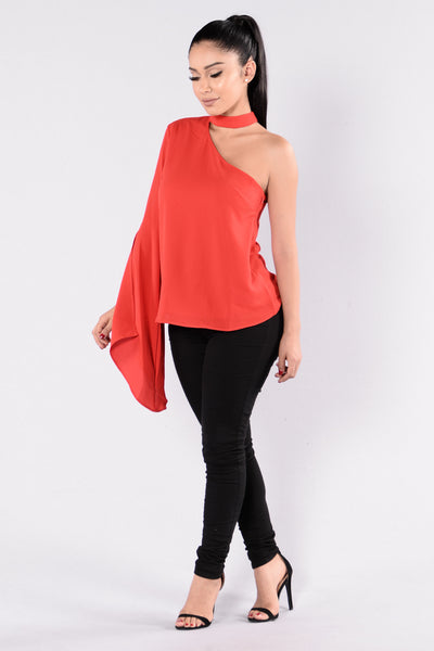 Want It That Way Top - Red