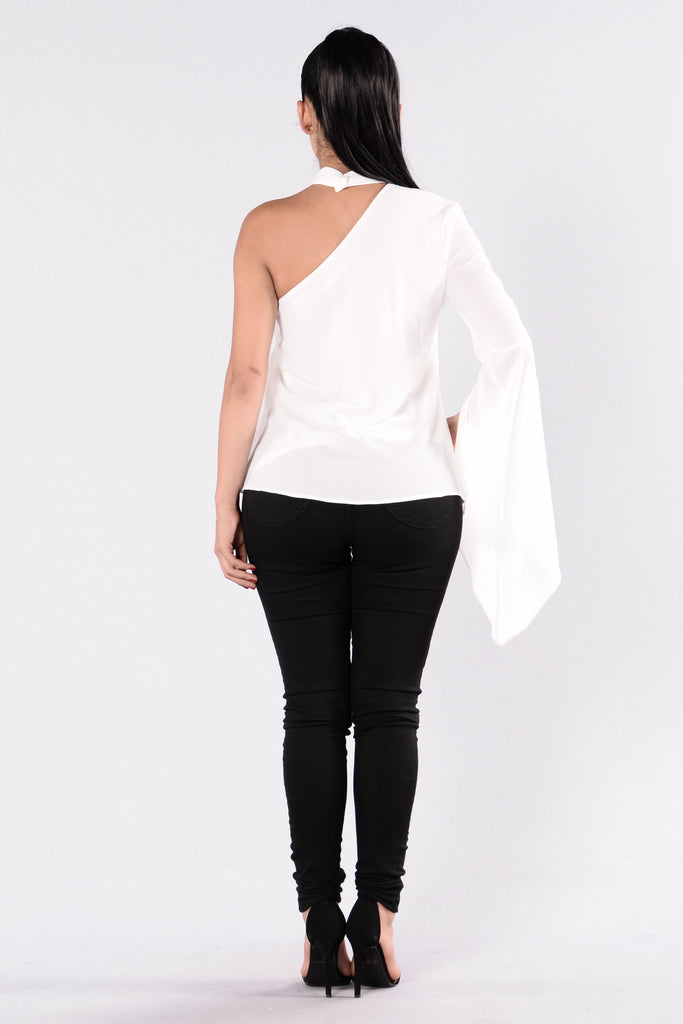 Want It That Way Top - Ivory