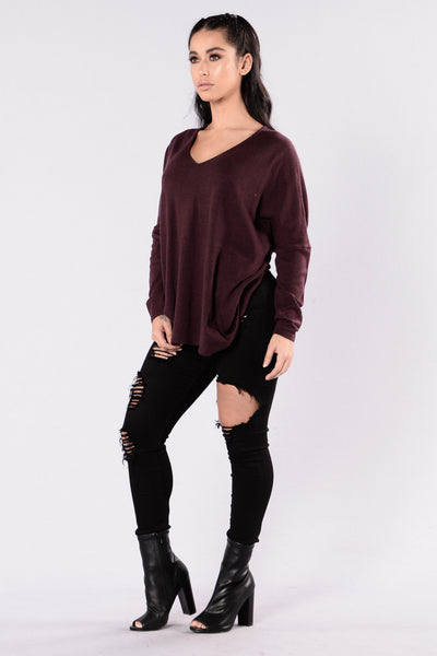 Nico Sweater - Plum