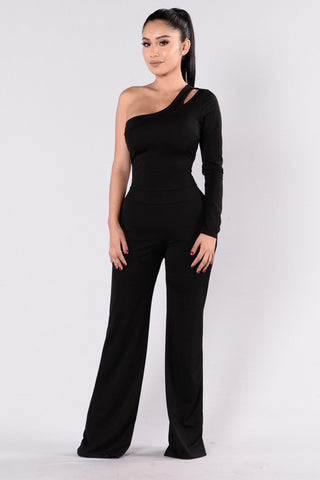 Downtown Adventures Jumpsuit - Black