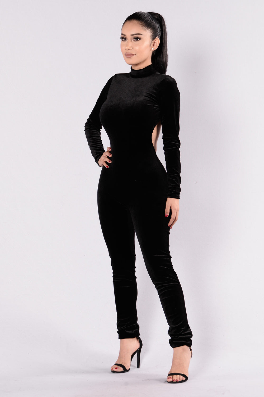 Careless Whisper Jumpsuit - Black