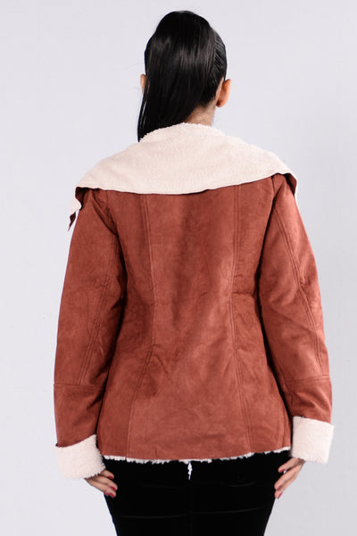 Fall In Love Again Jacket - Rust