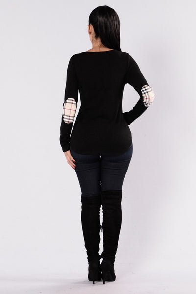 Take It To Reality Sweater - Black