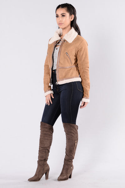 Sky Is The Limit Jacket - Camel