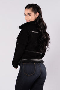 Sky Is The Limit Jacket - Black