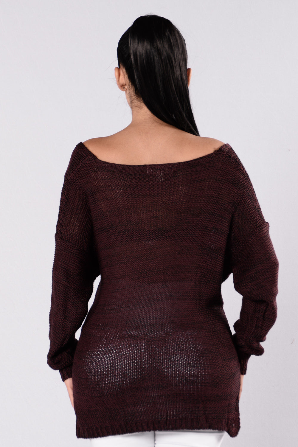 Make You Wanna Sweater - Plum