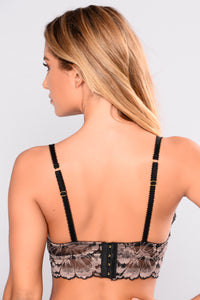 Adoring You Bralette - Black