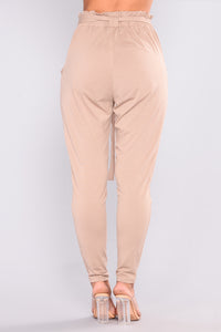 Finders Keepers Tie Waist Pants - Coco