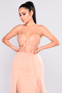 Ayanna Sequin Dress - Champagne