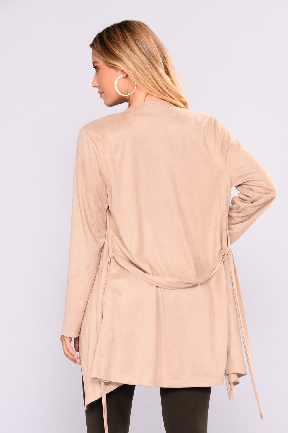 Give Me Time Suede Jacket - Camel