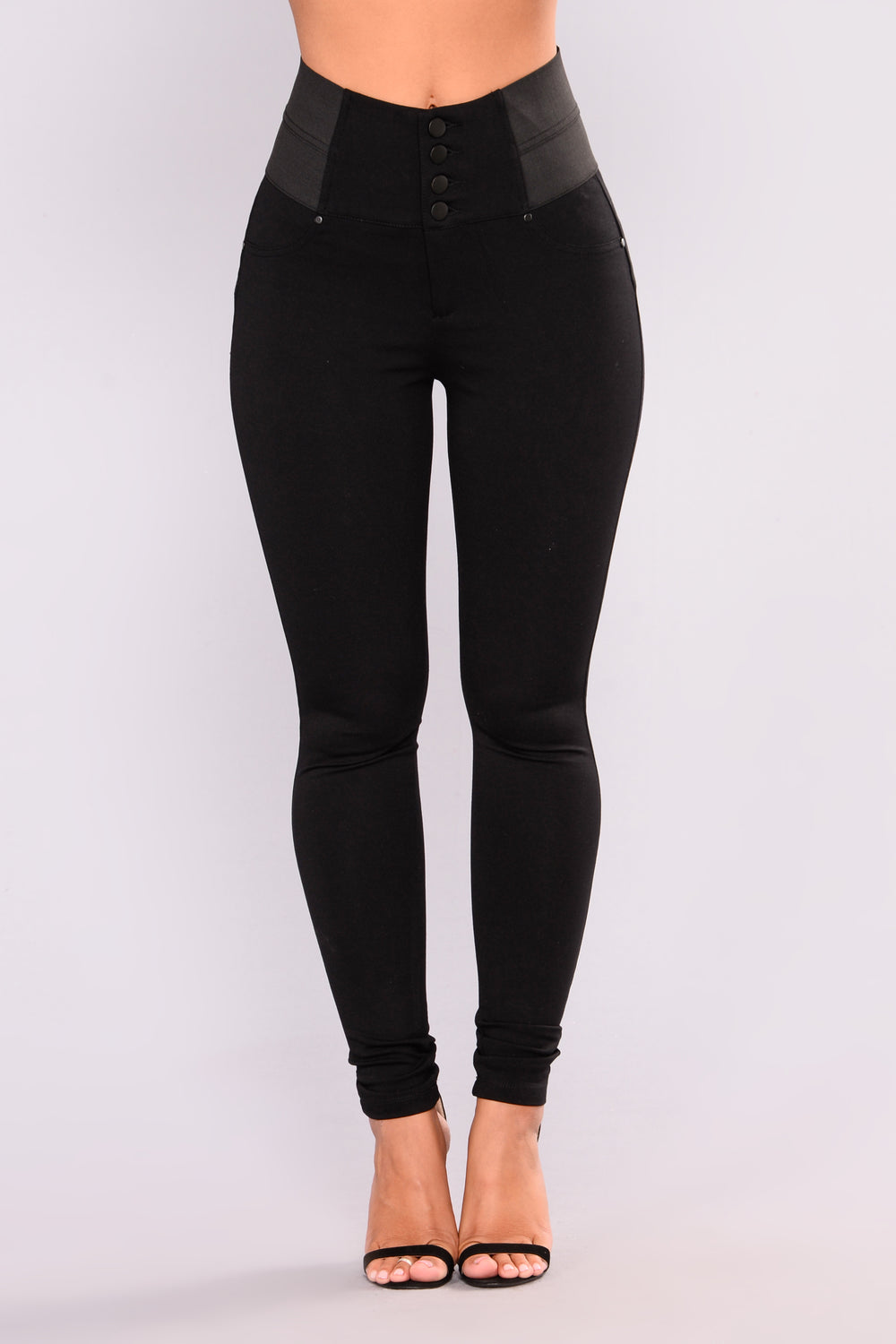 Chantal Ponte Leggings - Black