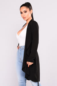 Sweet Thoughts Jacket - Black