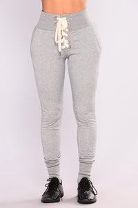 Ready To Race Joggers - Grey