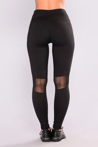 Jade Active Leggings - Black