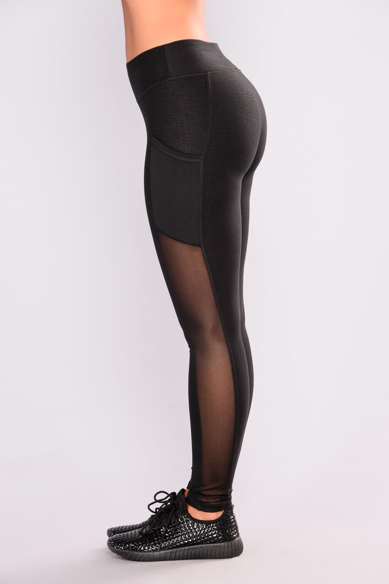 Natalia Active Leggings - Black