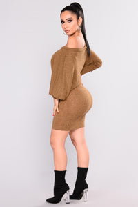 Did You Say Dulce De Leche Dress - Mustard Angle 3