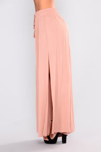 Romy Woven Pants - Taupe