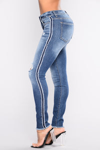 Love Profusion Skinny Jeans - Medium Blue Wash