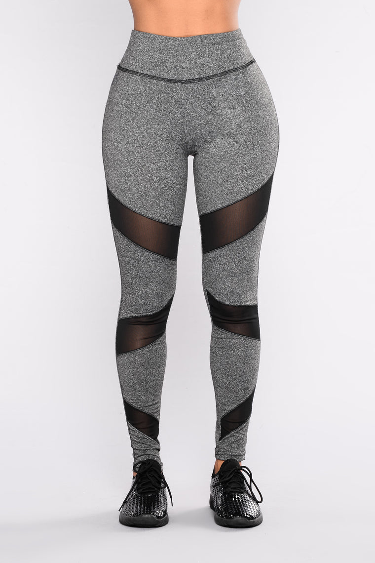 Melania Active Legging - Grey