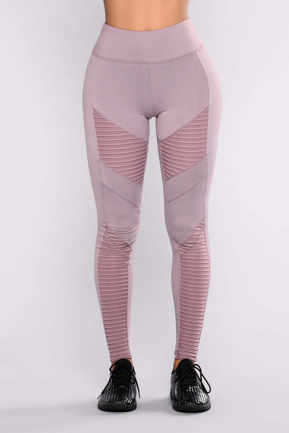 Brielle Motto Leggings - Mauve