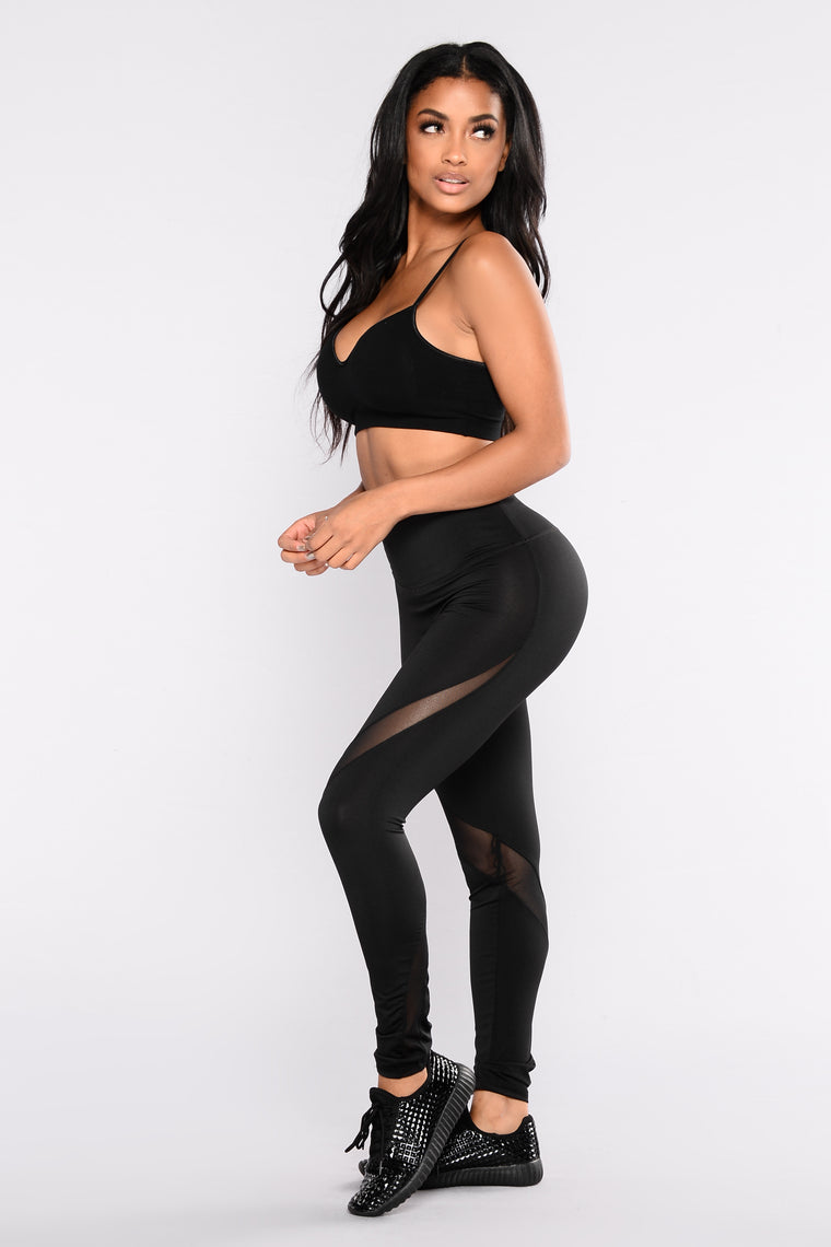 Traci Active Legging - Black