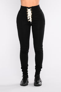 Ready To Race Joggers - Black