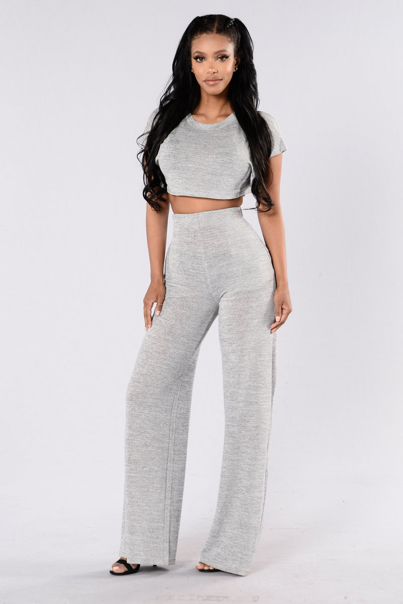 Netflix and Chill Set - Heather Grey