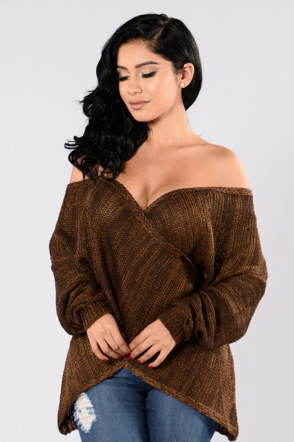 Make You Wanna Sweater - Brown
