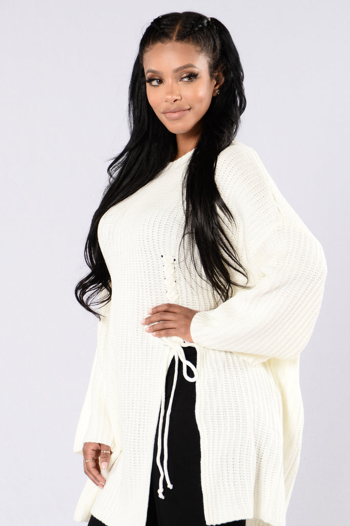 Pieces Of Me Sweater - Ivory