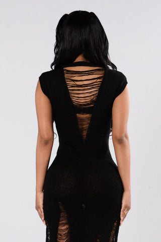 Hot In The City Dress - Black
