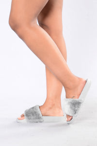 Rock Steady Sliders - Grey