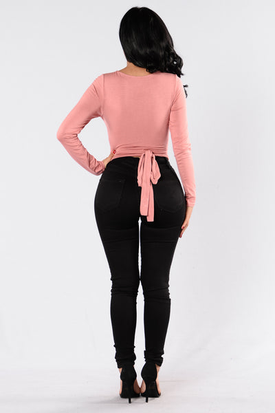 Kristie Top - Dusty Rose