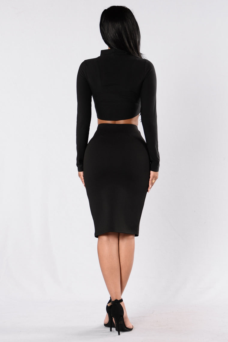 Get Ready Skirt - Black