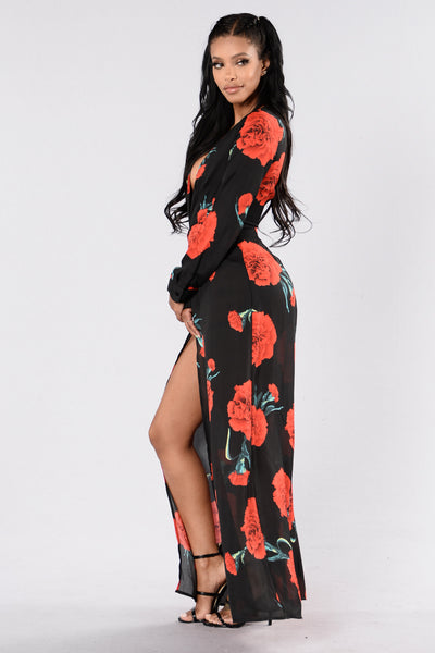 Love Like Oxygen Romper - Black