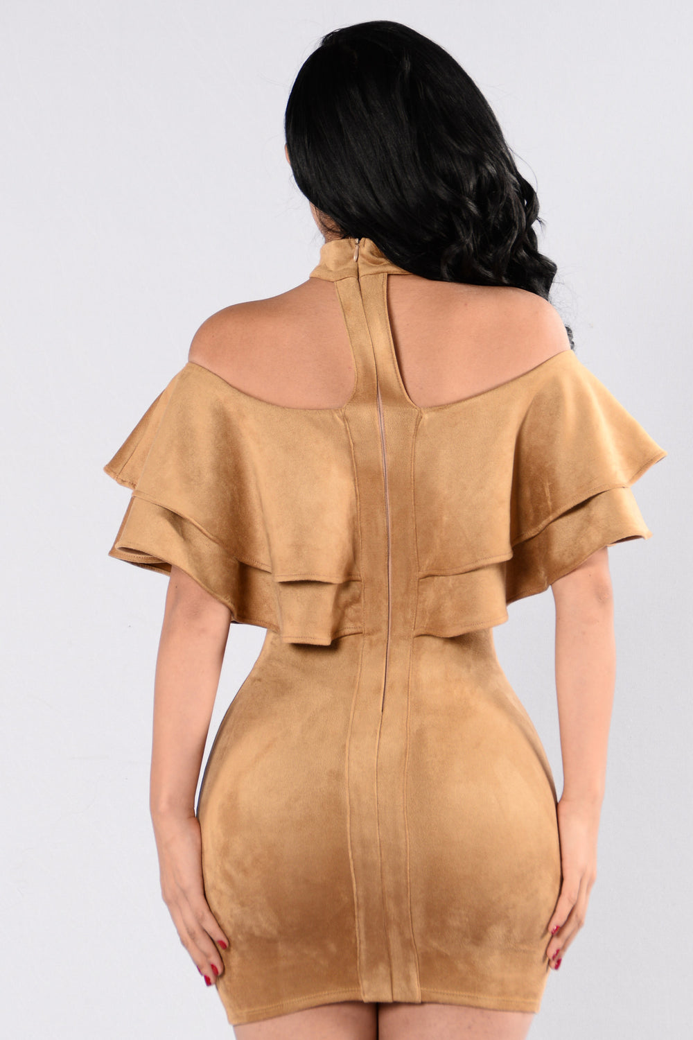 Crazy Little Thing Dress - Camel