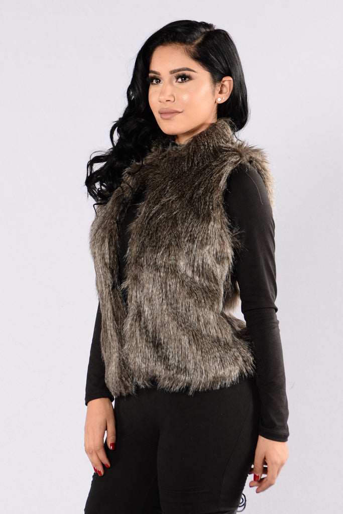 Spirit Animal Vest - Grey