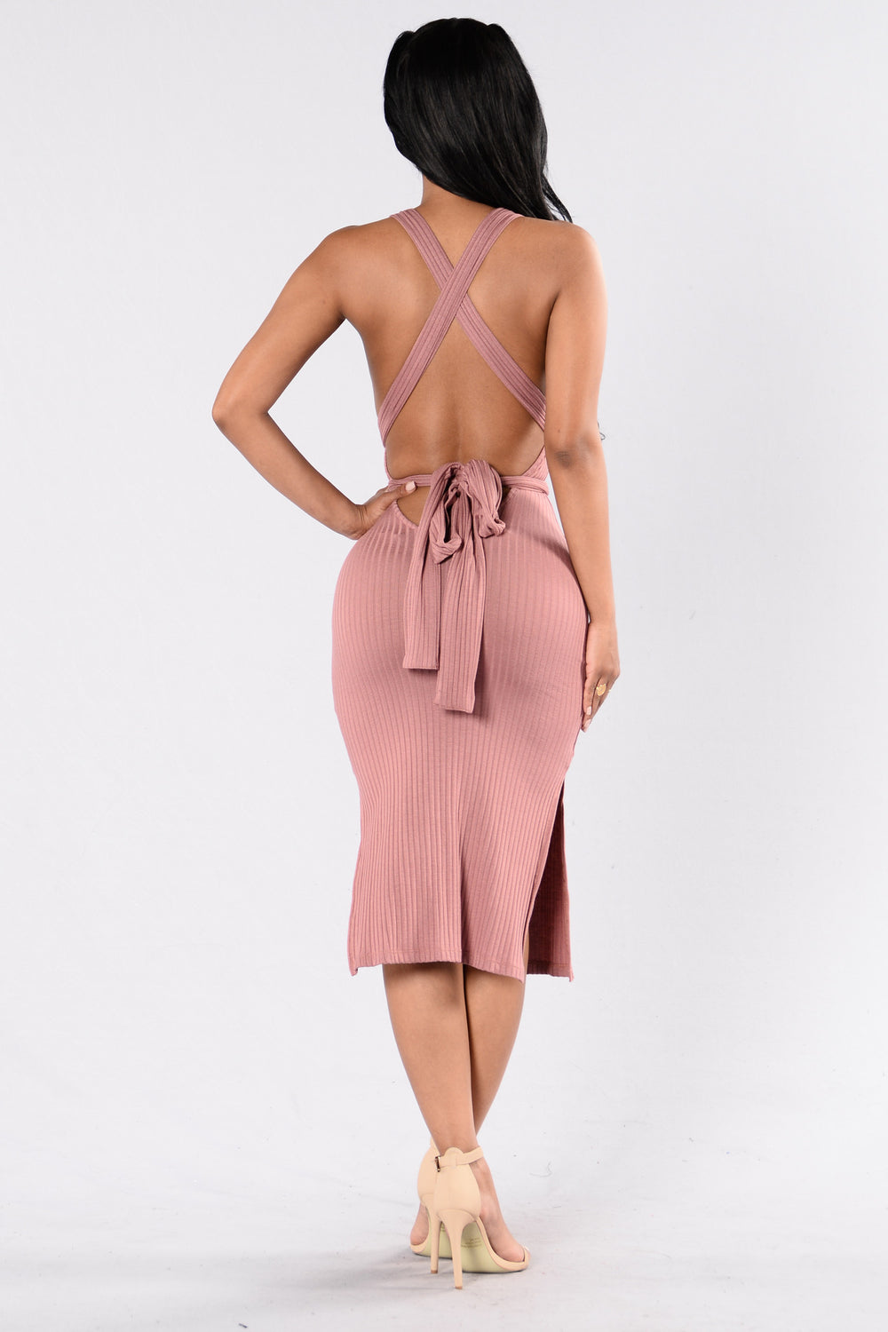 Take On Me Dress - Mauve