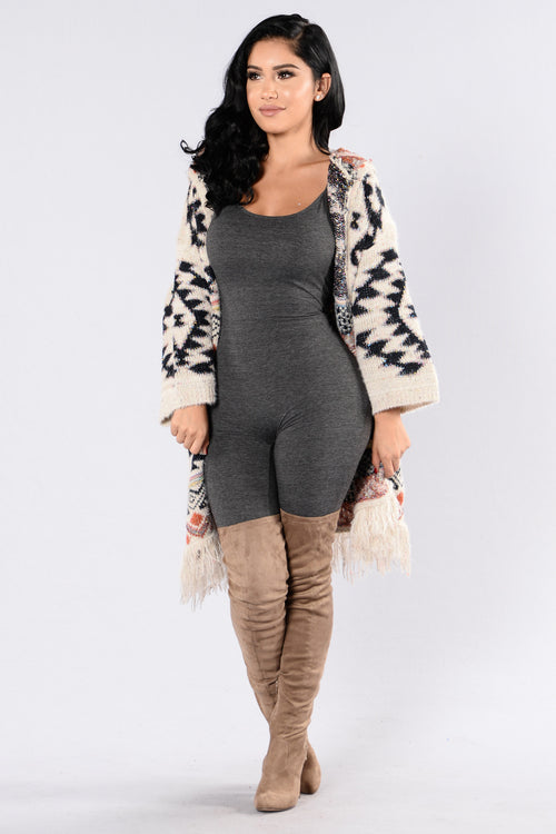 Free To Be Cardigan - Ivory