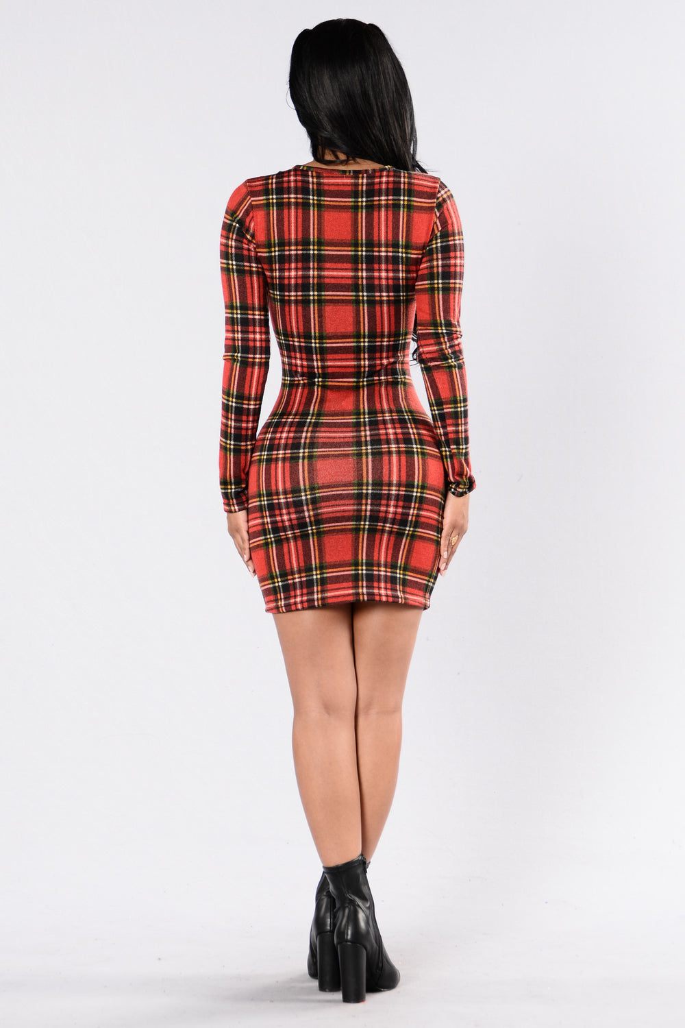 Cabin Fever Dress - Red