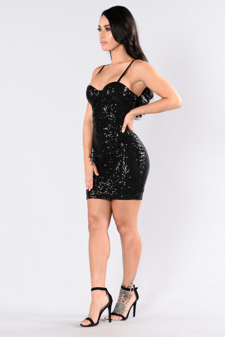 Nothing But Love Dress - Black