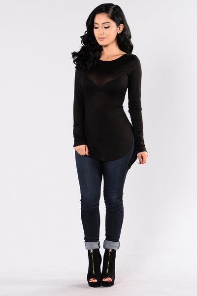 Love Yourself Top - Black