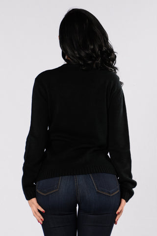 Afternoon Delight Sweater - Black
