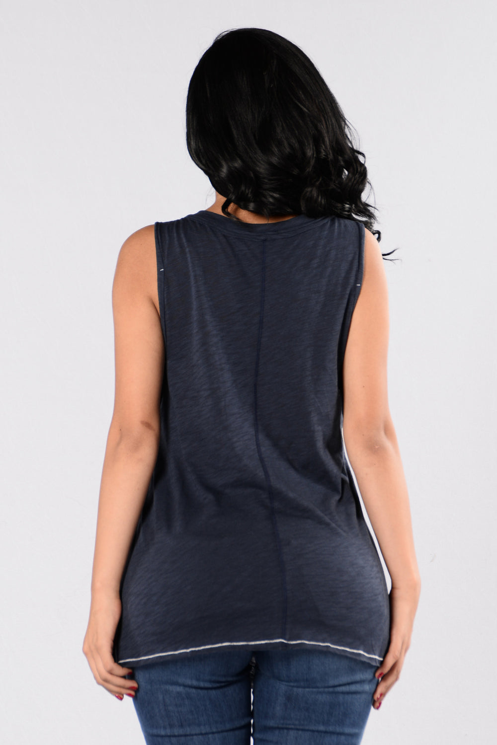 Take It To the Limit Tank - Navy