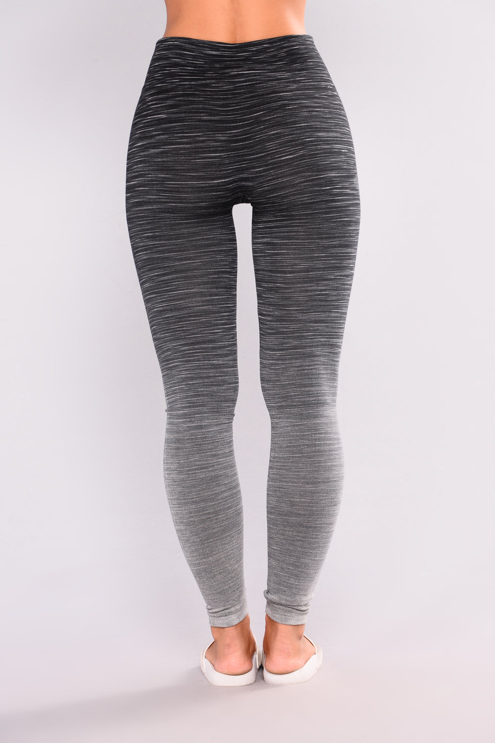Fernanda Seamless Active Leggings - Black