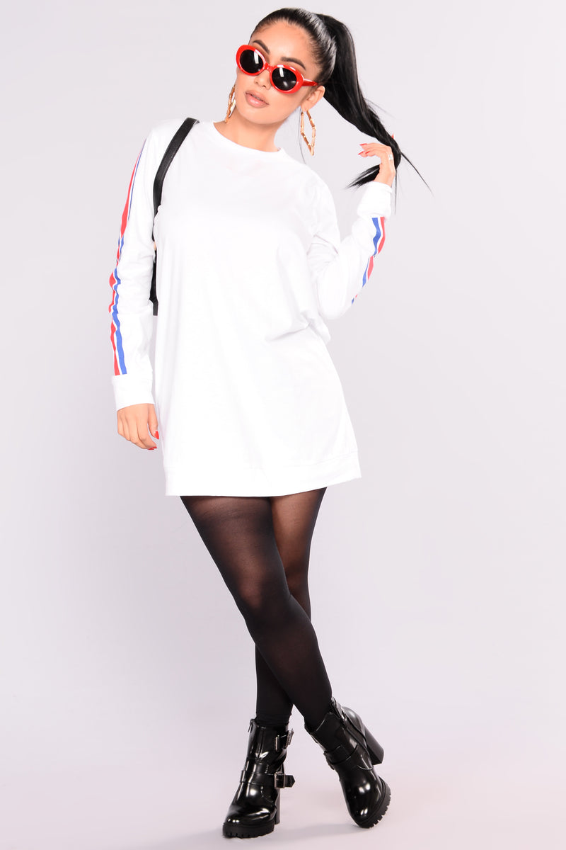 Full Of Energy Tunic - White