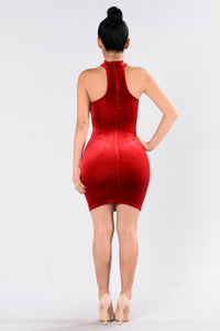 Nothing Compares Dress - Red