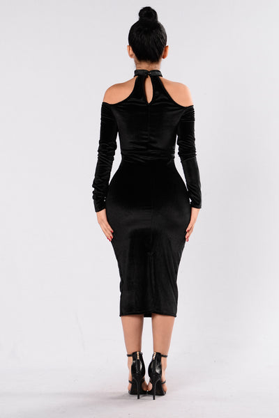 The Other Side Dress - Black