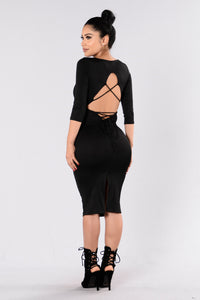 Broken Halo Dress - Black