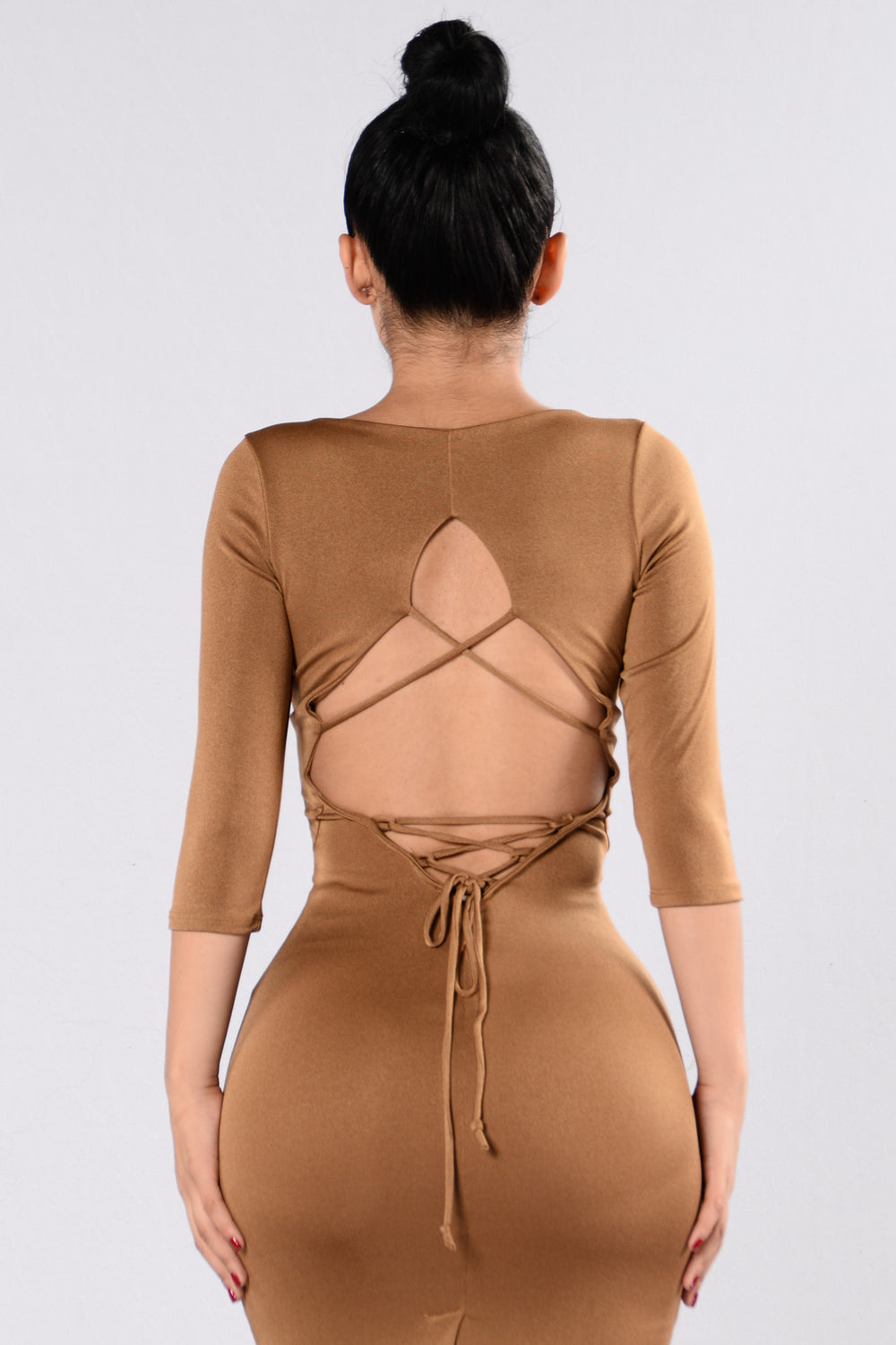 Broken Halo Dress - Camel